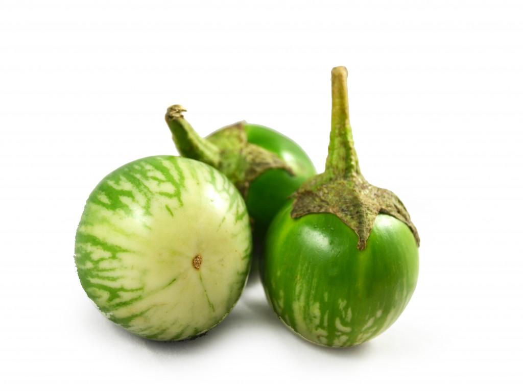 Fresh Green Eggplant